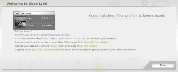 Как зарегистрировать Gamer Tag (аккаунт) в Xbox Live