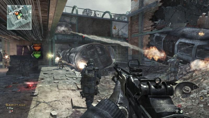 Обзор игры modern warfare