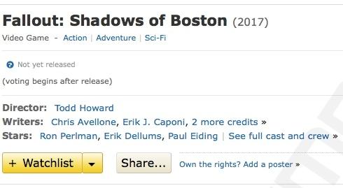 Fallout: Shadows of Boston