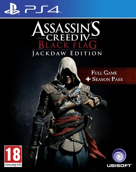 Assassin's Creed IV: Black Flag - Jackdaw Edition PS4