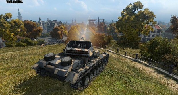 Геймплей World of Tanks на xBox 360