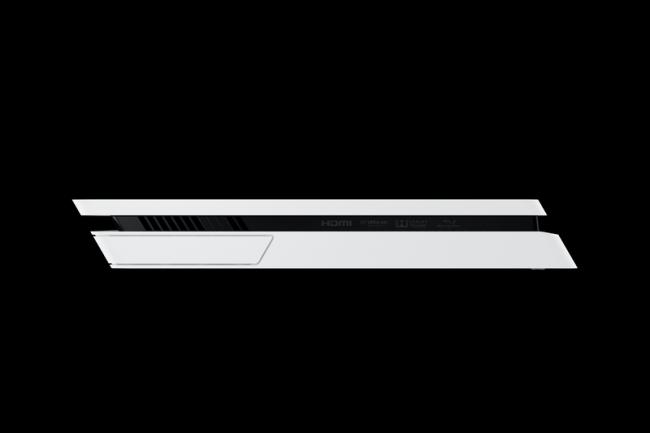Sony анонсировала белую PlayStation 4 Slim