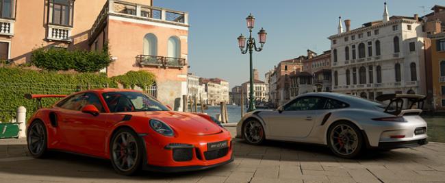 Porsche в Gran Turismo Sport