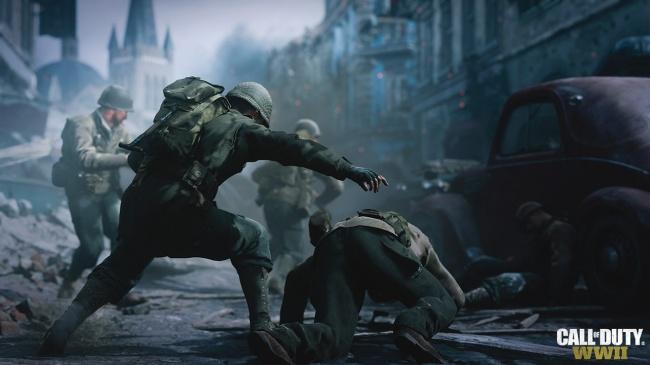 Анонсирована Call of Duty: WWII