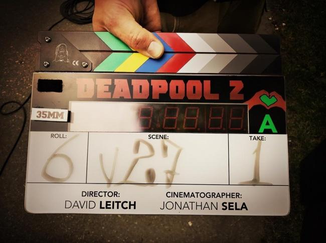 Съемки Deadpool 2 стартовали