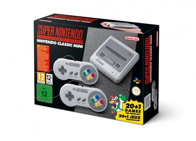 Анонсирована SNES Classic Mini