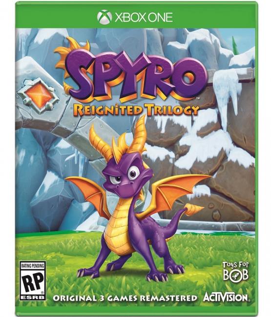Анонсирована Spyro: Reignited Trilogy