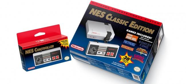 Nintendo перевыпустила NES Classic
