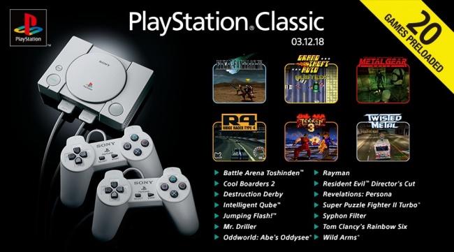 Игры PlayStation Classic