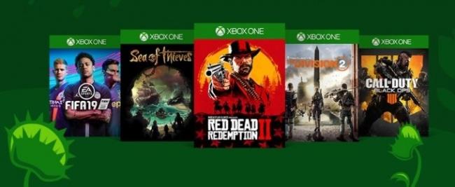 Весенняя распродажа игр для Xbox One и Xbox 360